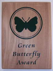 Green BUtterfly Award