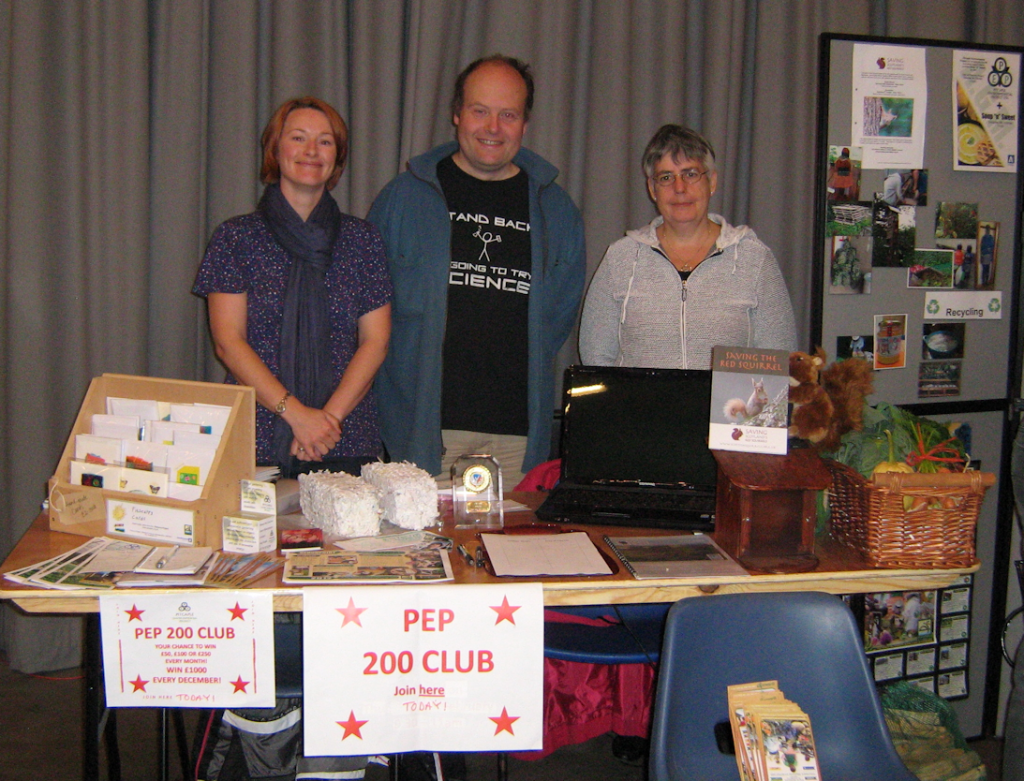 PEP stall at The Natural Energy Show